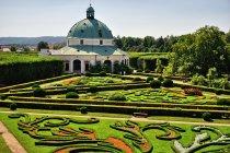 Ogród kwiatowy w Kromieryżu z listy UNESCO