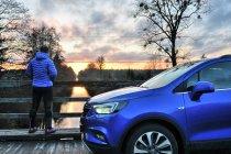 Opel mokka nad Kanałem Augustowskim