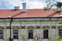 Opuszczona część klasztoru Louka