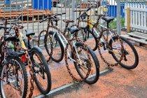 Oryginalne stojaki rowerowe
