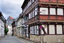 Oryginalny budynek hotelu w Goslar