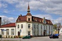 Oryginalny budynek w Markowicach