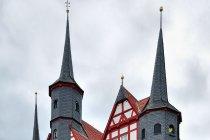 Oryginalny ratusz w Duderstadt