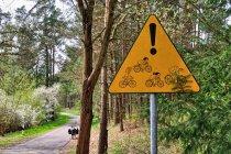Oryginalny znak rowerowy
