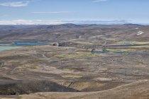 Otoczenie elektrowni wodnej Sigalda