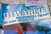 Otwarcie narciarskiej trasy biegowej w Białowieży