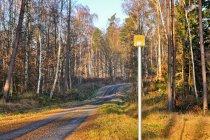 Oznaczenie szlaku rowerowego