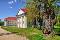 Pałac Rheinsberg od strony jeziora