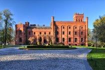 Pałac-zamek w Rzucewie