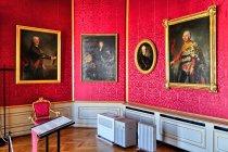 Pałacowe pokoje królewskiej rezydencji Rheinsberg