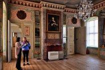 Pałacowe wnętrza Rheinsbergu