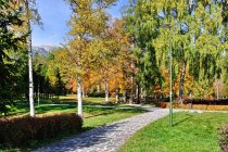 Park w Tatrzańskiej Łomnicy