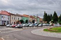 Parking na rynku w Leżajsku