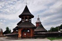 Partesti - obwarowana cerkiew