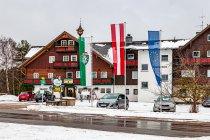 Pensjonat i flagi: Styrii, Austrii i Unii Europejskiej