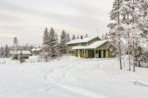 Piękne fińskie drewniane domy