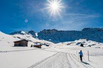 Piękne trasy na Alpe di Siusi