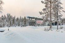 Pierwsza napotkana narciarska kawiarnia - Uuttusuon