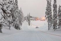Pierwszy narciarski podbieg