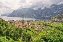 Pierwszy widok na Lago di Garda