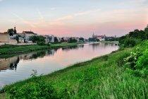 Pierwszy widok na Wawel