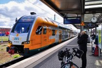 Piętrus ODEG przez Berlin do Cottbus