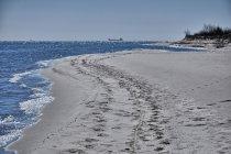 Plaża na Półwyspie Helskim