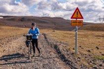 Po prawie 30 kilometrach drogi z Landmannalaugar