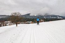 Pochmurne narciarskie Ramsau