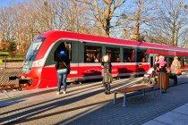 Pociąg z Helu do Gdyni