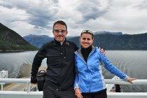 Podczas rejsu po Sognefjordzie