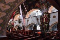 Polichromie w kościele w Istebnej