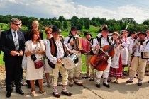 Polski zespół w dniu święta w Sołońcu