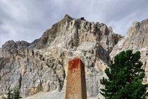 Pomnik na Passo di Falzarego