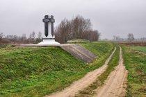 Pomnik nad Wartą, nieopodal bunkier z 1939 roku