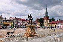 Pomnik św. Michała Archanioła w Strzyżowie