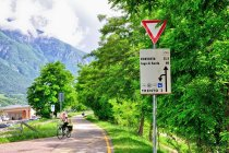 Ponownie na drodze rowerowej nad Adygą