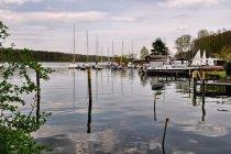 Port nad jeziorem Werbellin