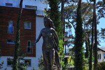 Posąg Juraty. W Juracie
