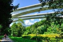 Potężne mosty autostradowe koło Villach