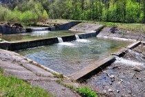 Progi wodne na Królówce w Beskidzie Niskim