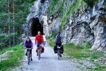Przed wjazdem do tunelu