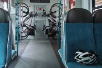 Przedział rowerowy w nowej SKM