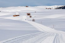 Przez śniegi Dolomitów na Alpe di Susi