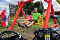 Przydrożna infrasturktura dla rowerzystów