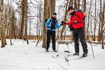Puszcza Białowieska na nartach biegowych