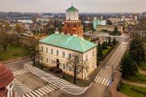 Ratusz i Brama Krakowska w Wieluniu