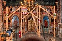 Remont w cerkwi w Arbore