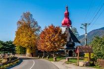 Renesansowy kościół w Niżnych Matiaszowcach