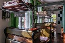 Restauracja czy przedział pociągu - hotel w Prerow